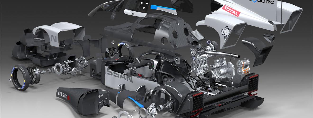 Nissan Zeod experimental Le Mans car