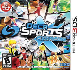 Deca Sports Extreme 3DS CIA USA