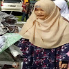 Santri  Ponpes Diniyyah Putri Aksi Simpati Bersih