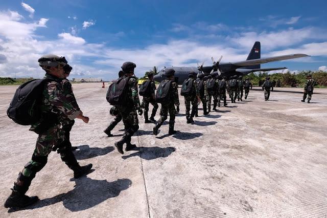 Pasukan PPRC TNI