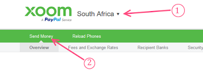 HOW TO SEND & RECEIVE MONEY FROM USA WITH XOOM BY PAYPAL