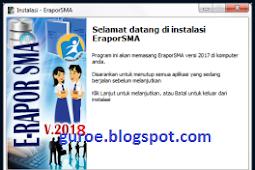 Download [Aplikasi] E-RAPOR SMA 2018 & 2018a Berserta PANDUANNYA