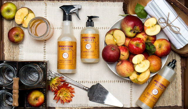 Staying Cozy in Fall (+How to score FREE Mrs. Meyers products!)