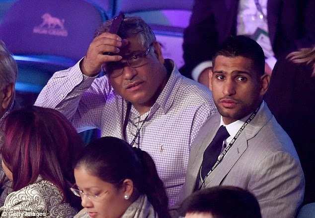 Amir Khan - Mayweather vs Pacquiao Fight in Las Vegas