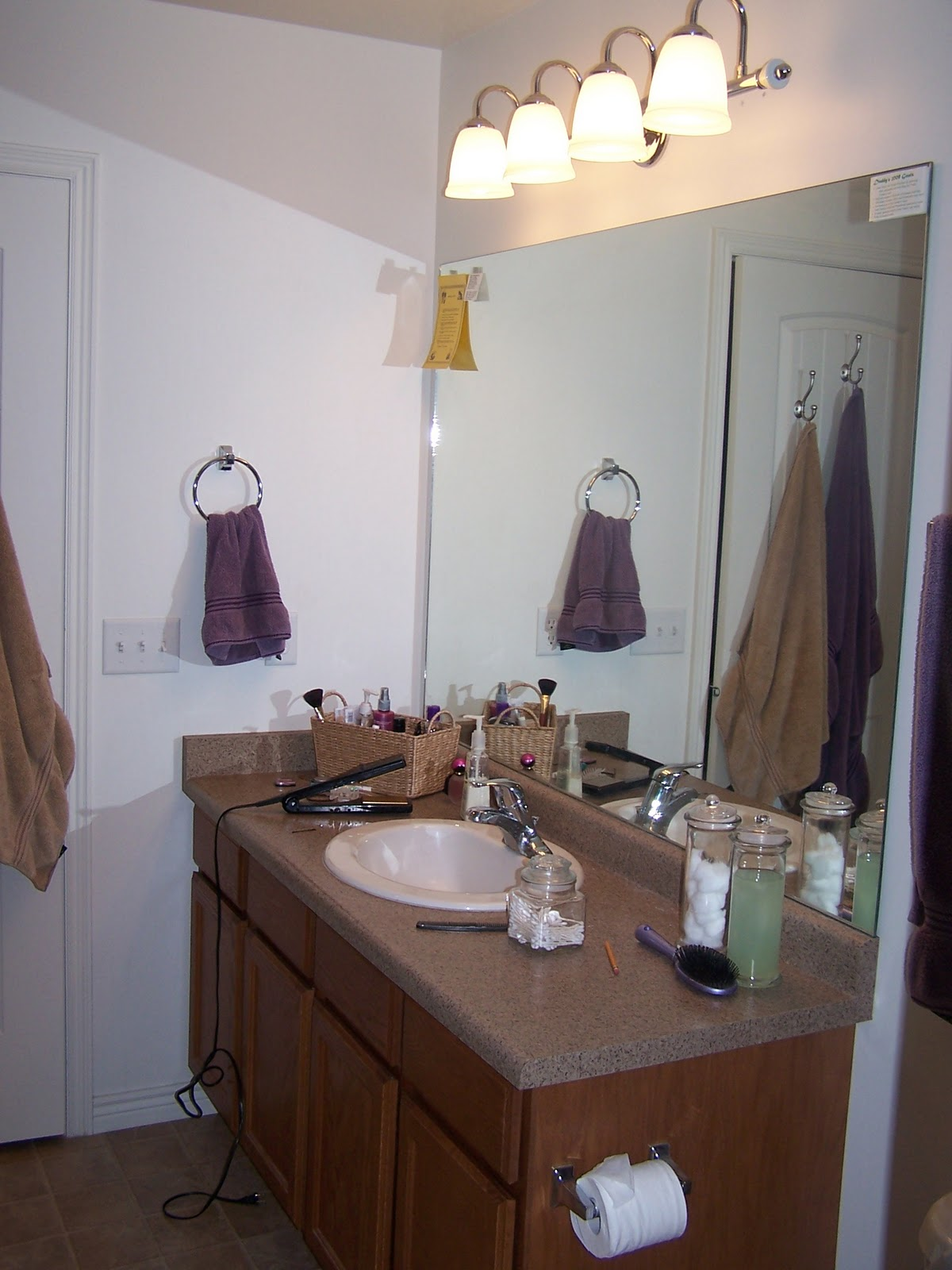 Remodelaholic | Complete DIY Master Bathroom Remodel!!!
