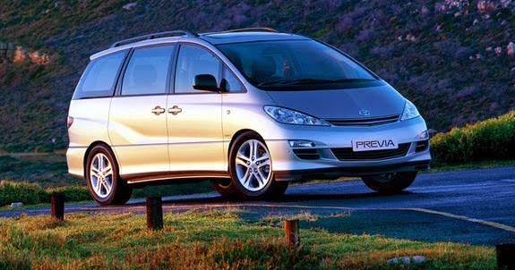The Ultimate Car Guide Toyota Previa Generation 2 2003