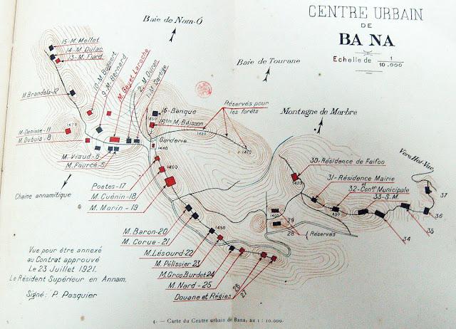 Bản đồ quy hoạch do người Pháp lập ra