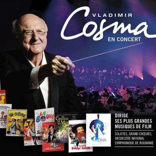 News du jour Vladimir Cosma en concert Live
