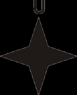 Bintang Angin Menunjuk Utara