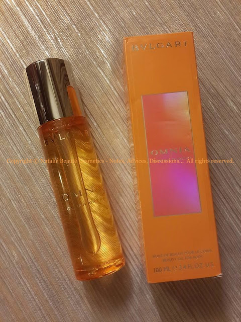OMNIA INDIAN GARNET Beauty Oil For Body - BVLGARI PERSONAL REVIEW AND PHOTOS NATALIE BEAUTE