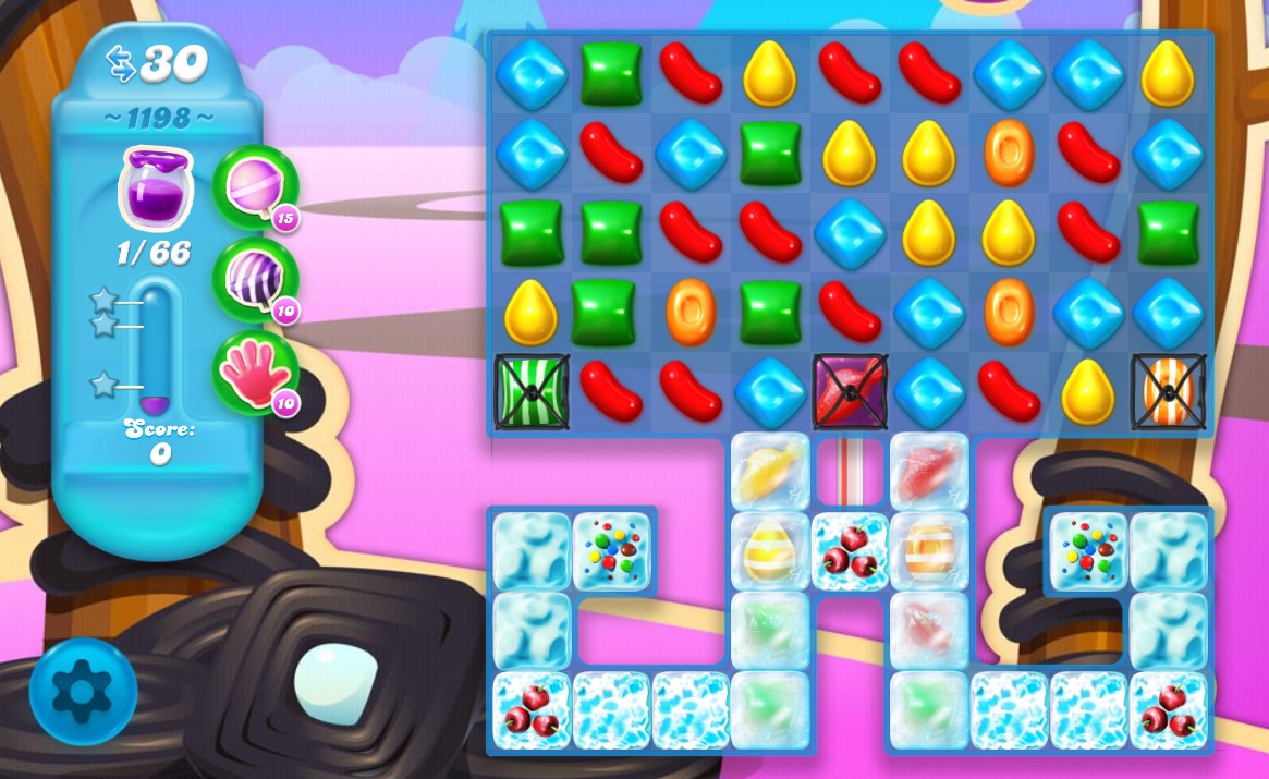 Candy Crush Soda Saga level 1198