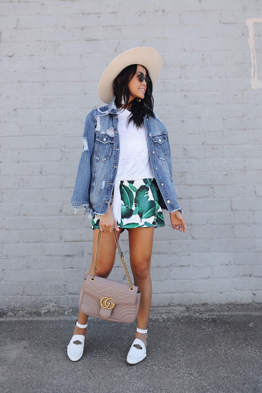 How to Style Denim Jacket for Summer