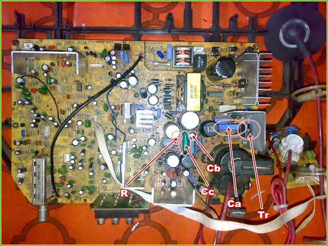 Perbaikan Kerusakan Mati Total - TV Polytron 29-Inch U-Slim