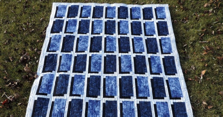 Night Owl Quilting Amp Dye Works Illusion Block Quilt