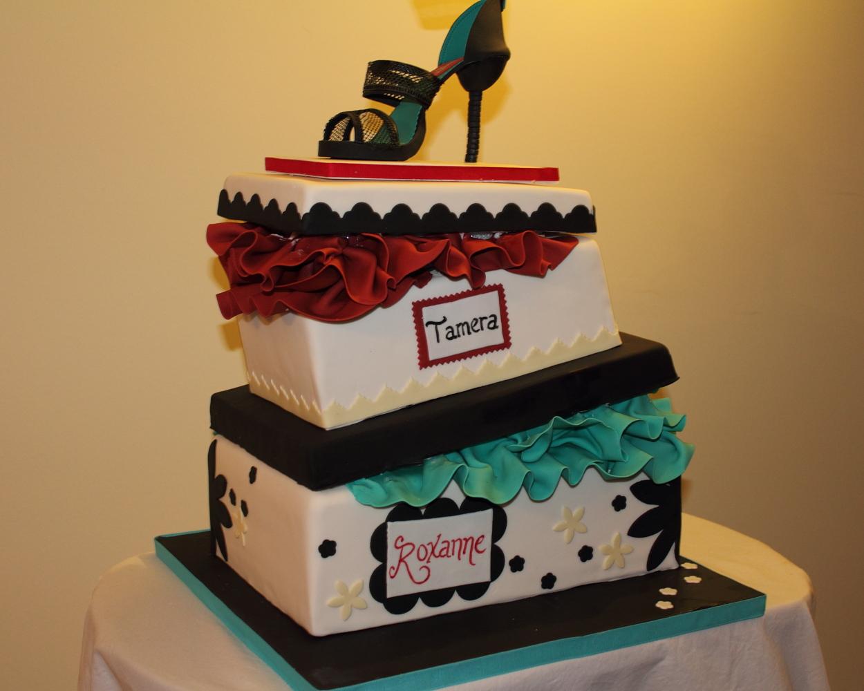 08a3b39d1ab2 The Cake Engineer  Birthday Shoebox Cake