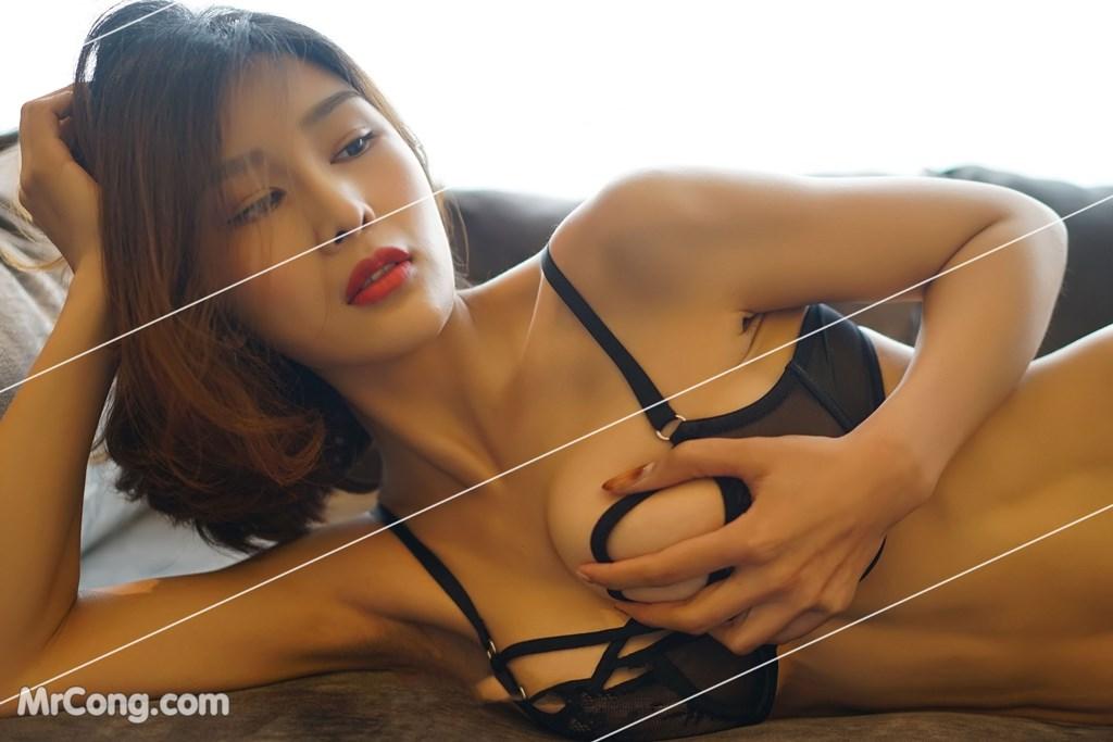 Image Yan-Pan-Pan-Part-3-MrCong.com-045 in post Ngắm vòng một siêu gợi cảm với nội y của người đẹp Yan Pan Pan (闫盼盼) (51 ảnh)
