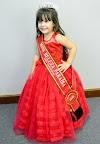 Menina de 03 anos que conquistou concurso de beleza Capital é sucesso em sua cidade no sertão