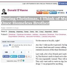 True Christmas Humanity - Favorte Blog Post December 2012