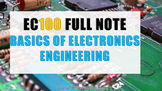 ktu ec100 full note