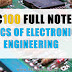 EC-100 Full Note:BASICS OF ELECTRONICS ENGINEERING