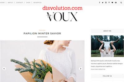 Template Terbaru 2017 Voux Blogger Seo Responsive Download Gratis