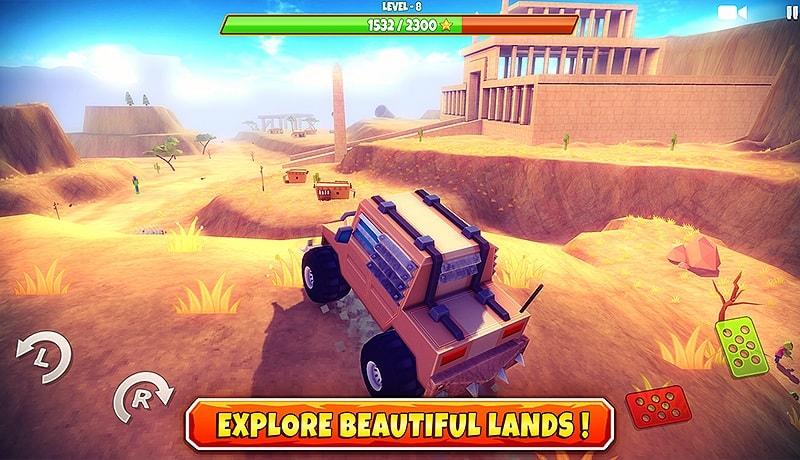 تحميل لعبة العالم المفتوح zombie safari للاندرويد بدون نت