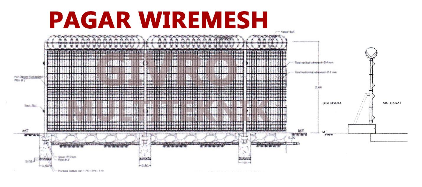 pagar wiremesh harga pabrik buktikan   pagar wiremesh
