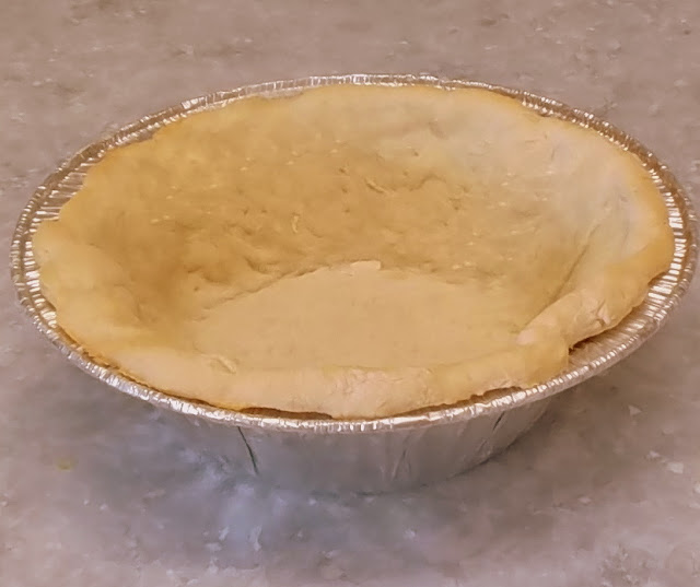 shoofly pie crust partially baked