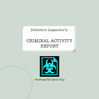 Criminal Activity Report