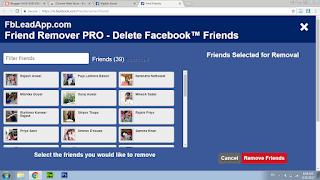 unfriended facebook app