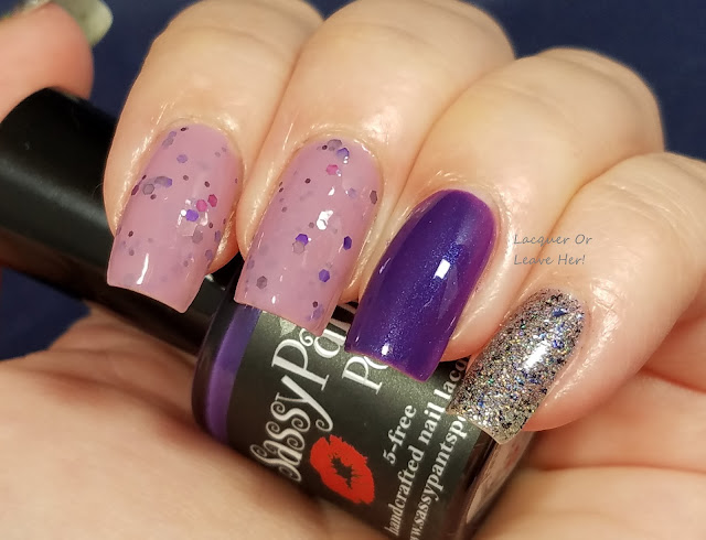 Sassy Pants Polish Anniversary Trio skittle