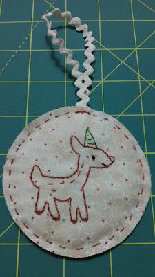 Adorno Navidad Ciervo  Christmas Ornament Deer