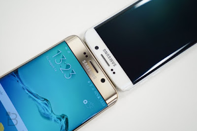 Samsung Galaxy S6 group of phones and Galaxy Note5