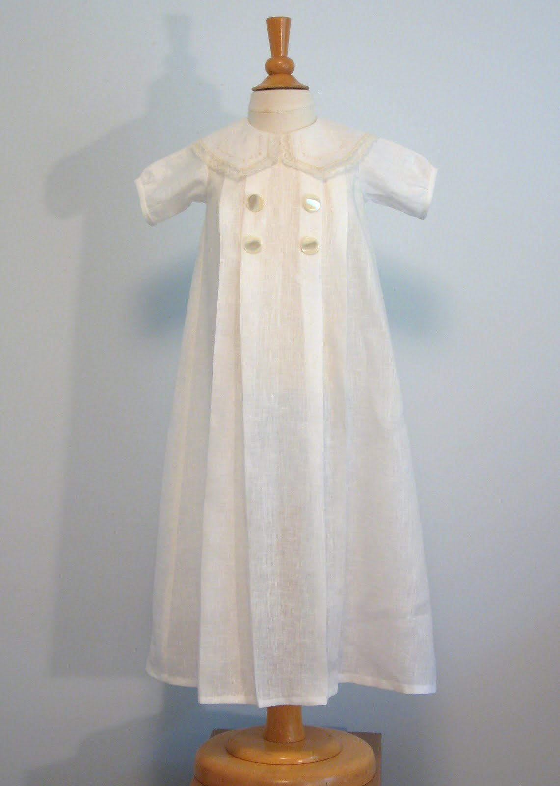 Creations By Michie Blog A Christening Gown For The Boys