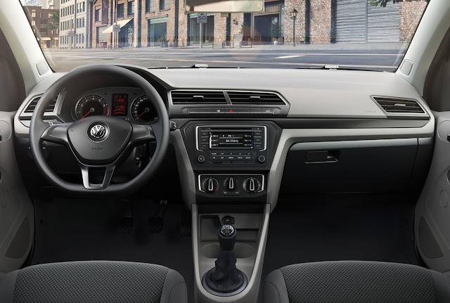 VW Voyage 2018 Comfortline - interior