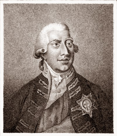 George III from The History of the Reign  of George III by R Bisset (1810)