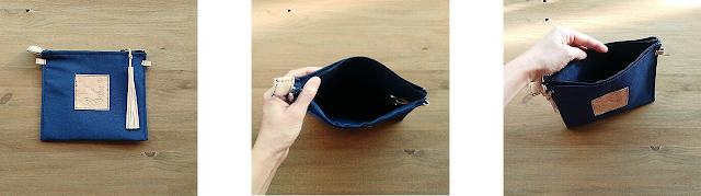 cartera clutch personalizado iniciales grabados colores ecológica artesanal made spain