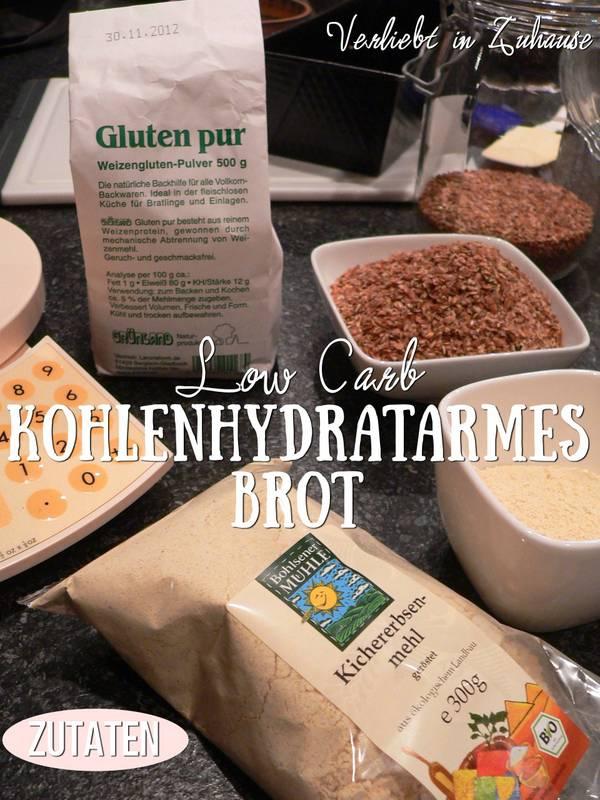 Verliebt In Zuhause Low Carb Rezept Kohlenhydratarmes Brot