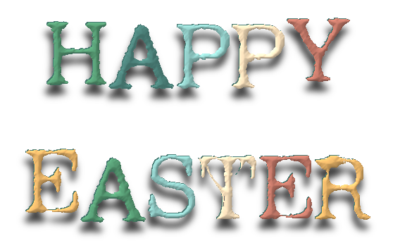 words,text,happy easter,png,tube,photoscape,pascuas