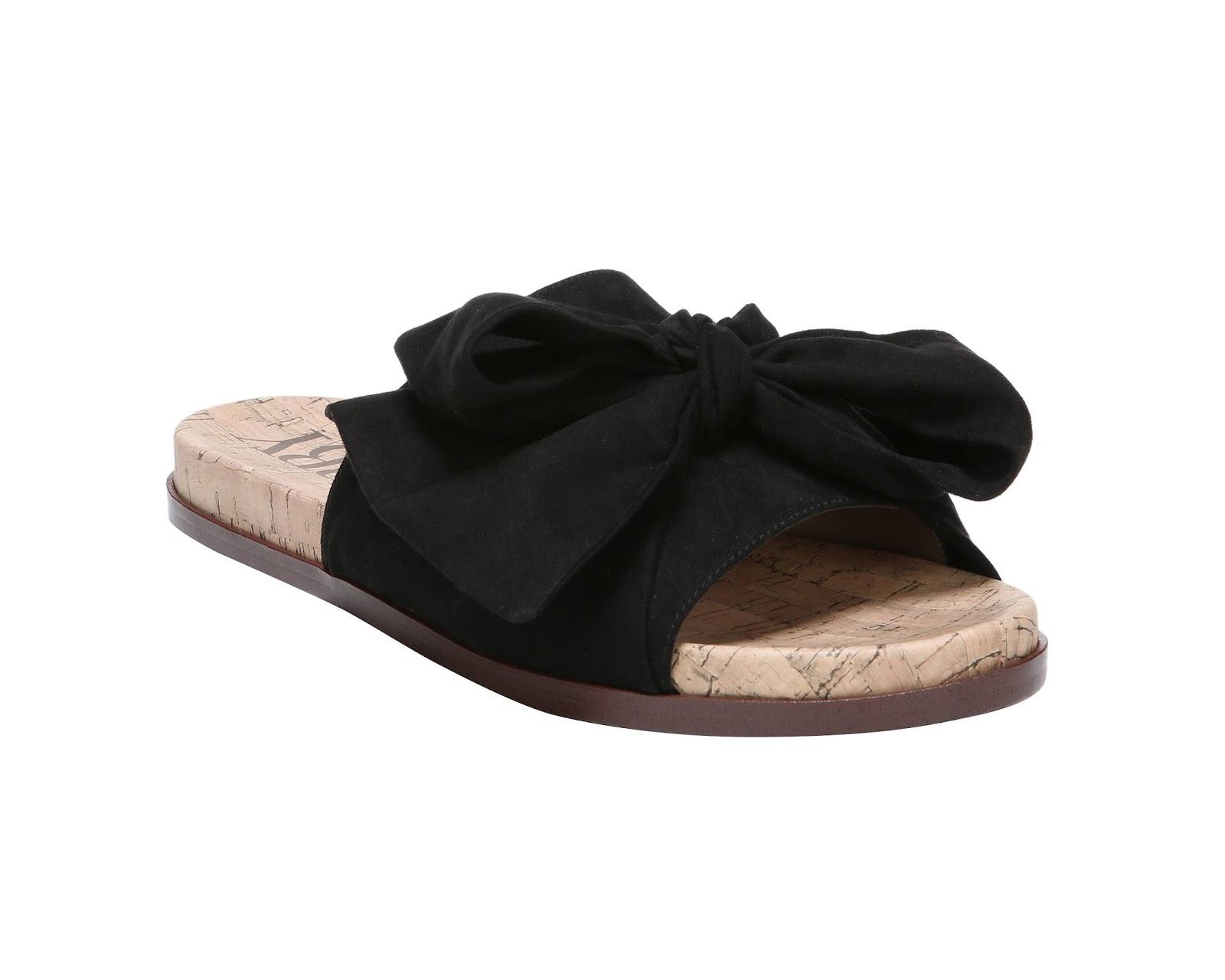 Sam Amp Libby Bow Slide Sandal