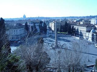 popolo obelisco - Os obeliscos de Roma