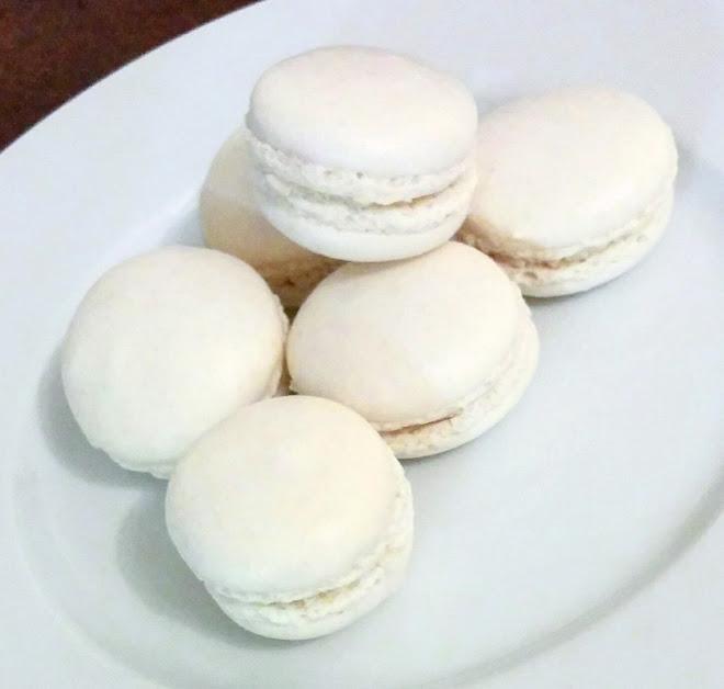 Macarons blancs à la meringue italienne