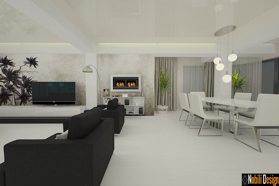 Amenajari interioare case moderne amenajare casa moderna for Casa interior design