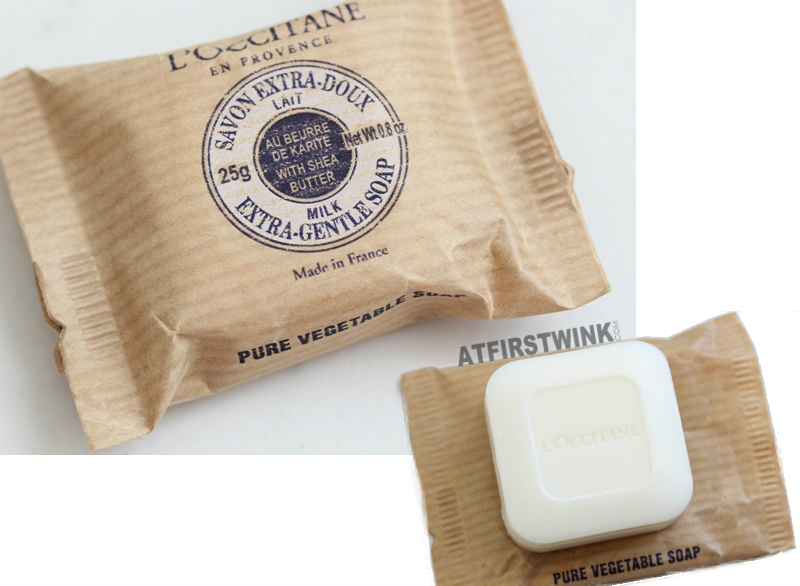 L'Occitane shea butter extra gentle pure vegetable soap