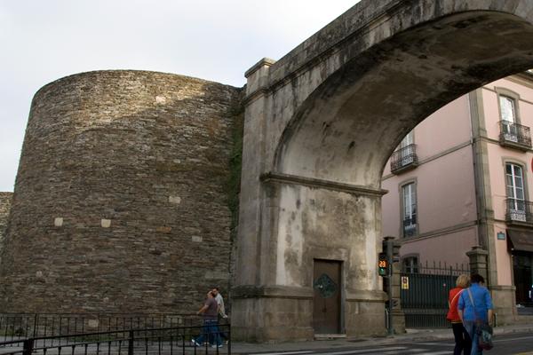 puerta muralla de Lugo