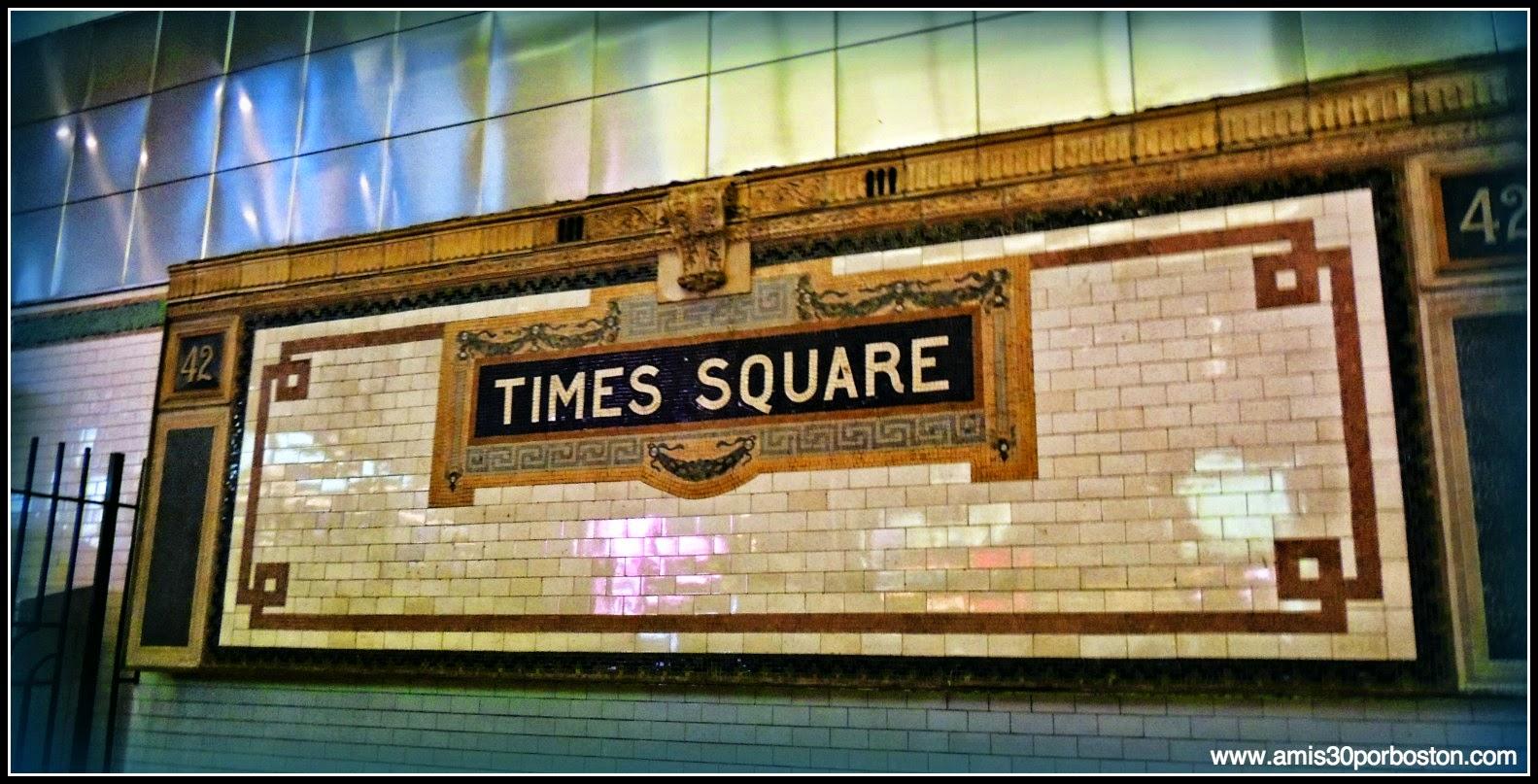 Segunda Vista a Nueva York: Times Square