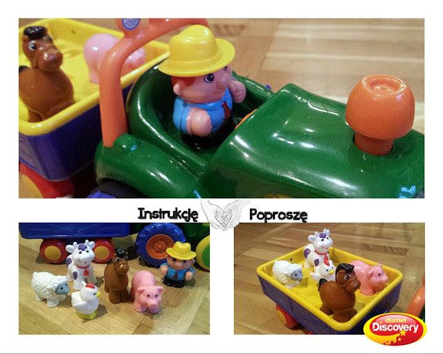 Traktorek Farmer - Zabawka, która mnie zaskoczyła