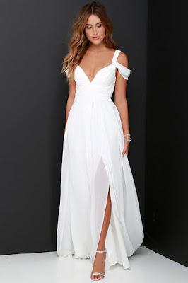 vestidos rectos formales con manga corta