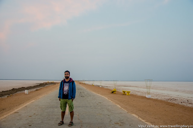 Walkway towards Kutch
