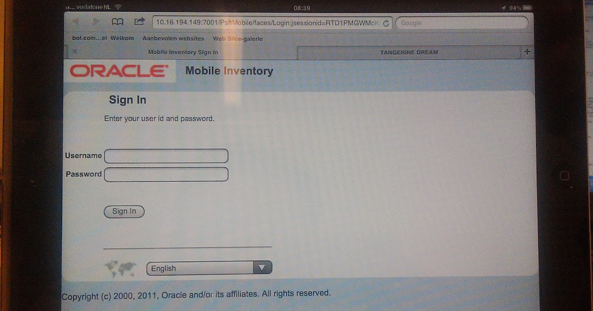 Hakan Biroglu: PeopleSoft 9 1 Mobile Inventory: Test the